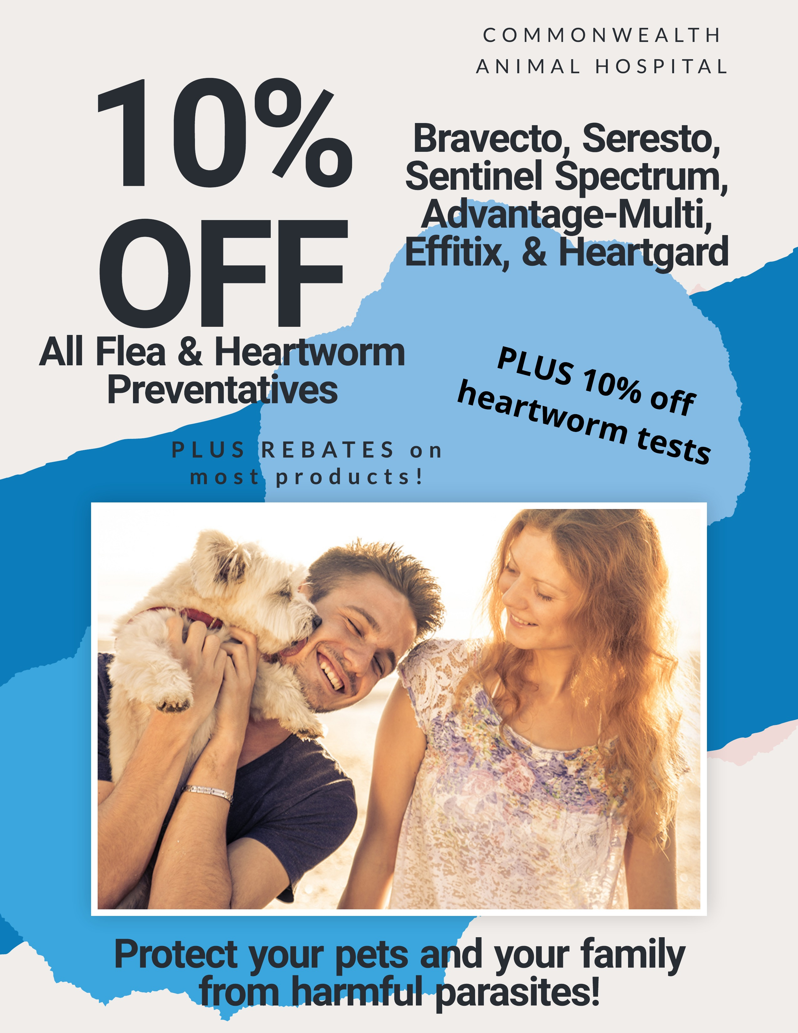 10% Off Flea and Heartworm Prevention